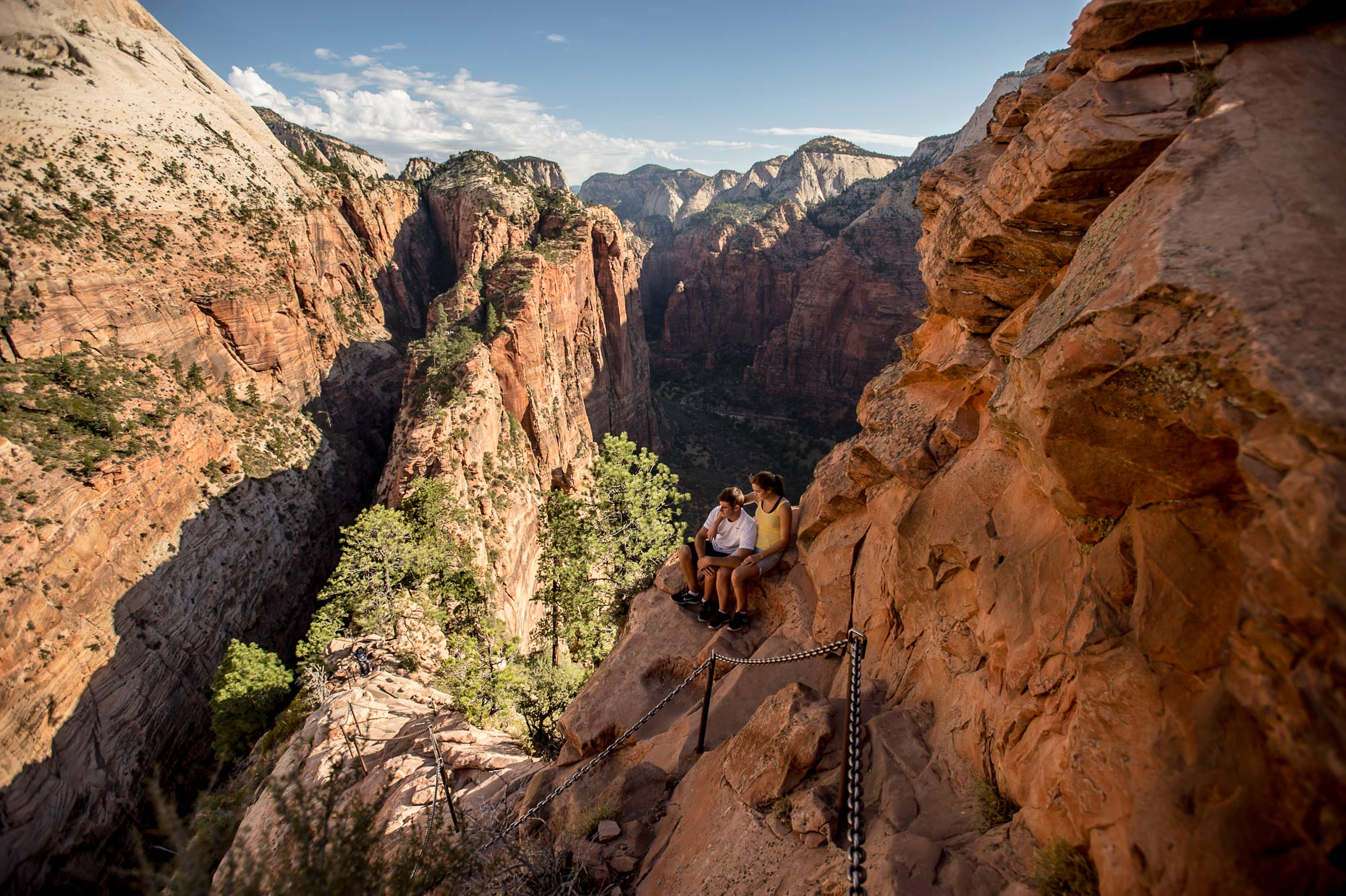 Active Lifestyle Photography - Couple at Angels Landing