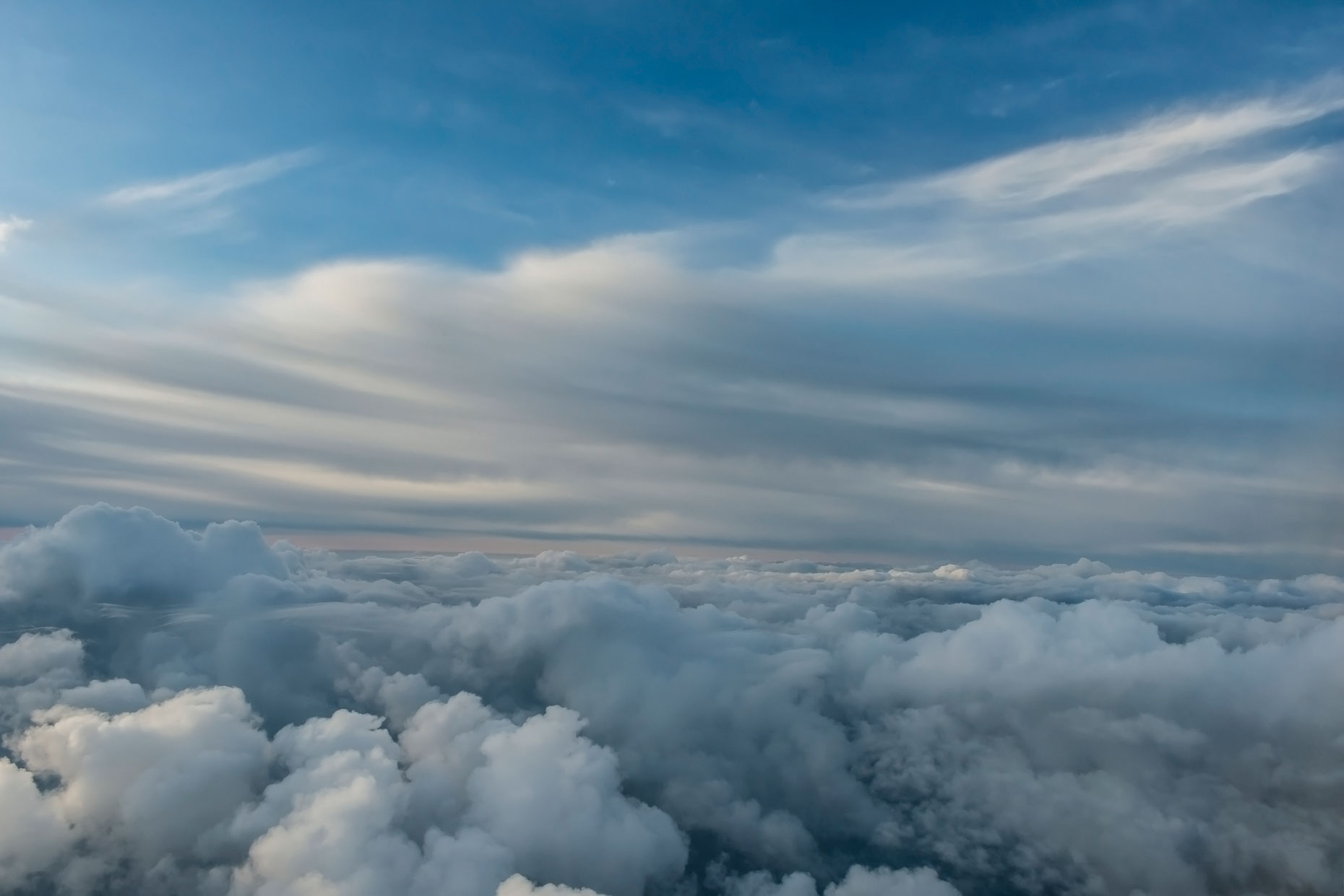 Landscape Photography - Clouds over the Pacific Ocean