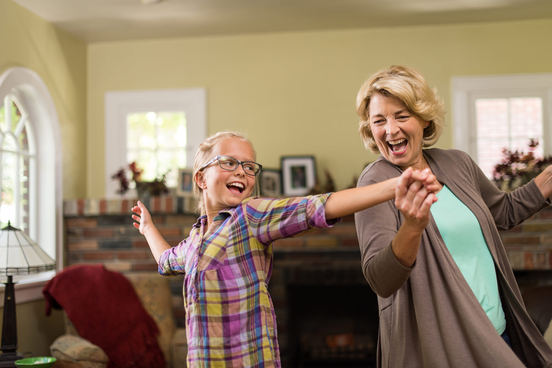 Dancing with Grandma-Advertising Photography