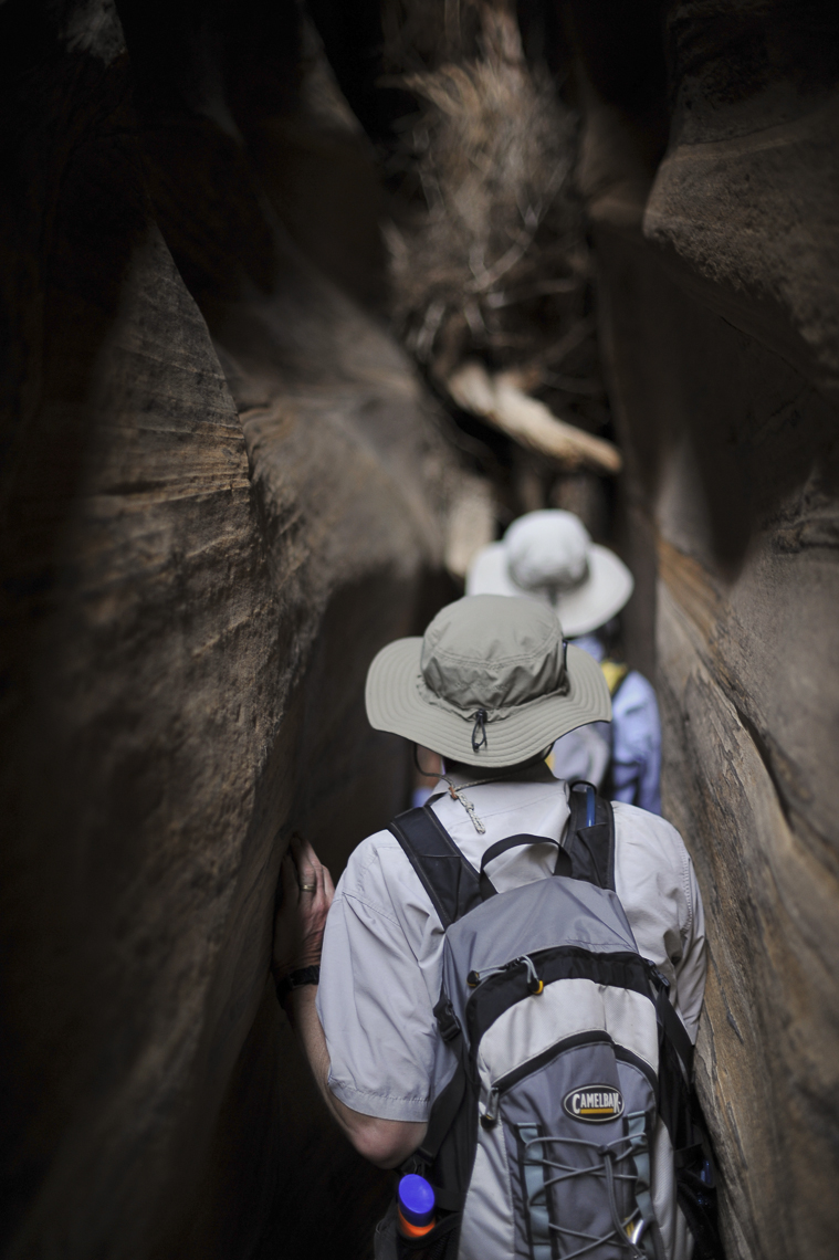 Active Lifestyle Photography - Hikers in Zion National