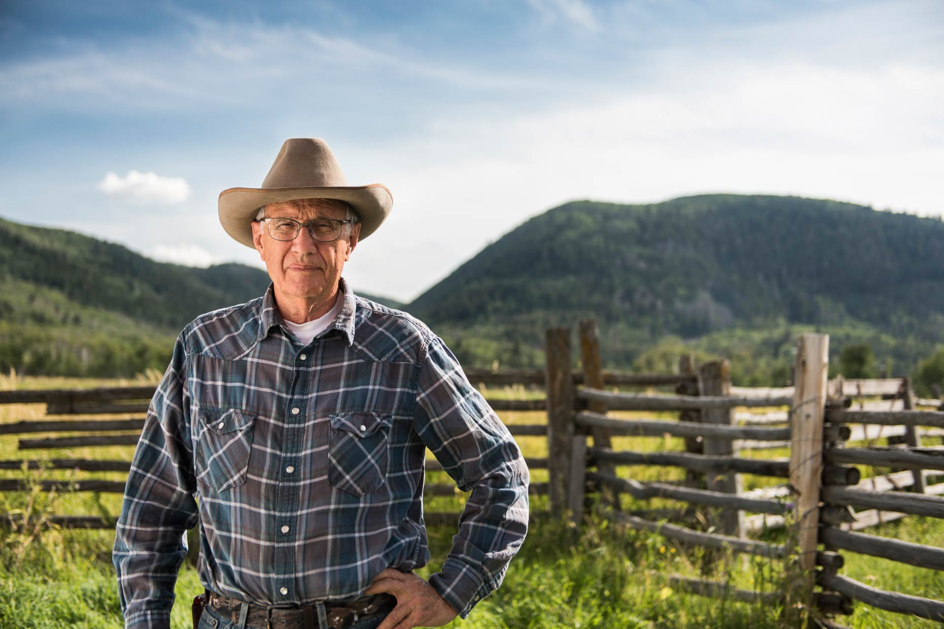 Advertising Portrait Photography -Portrait of a Rancher