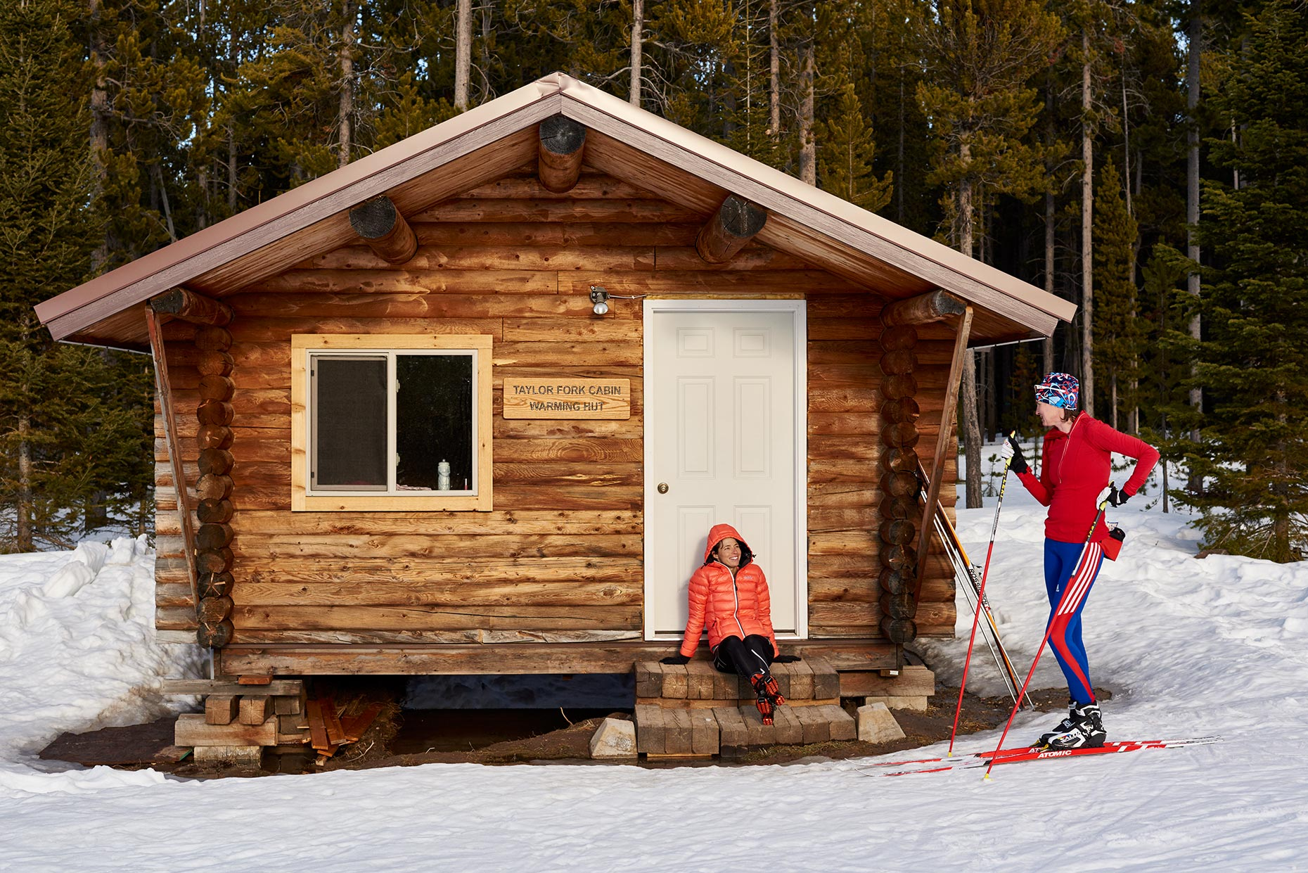 Commercial Photography-Cross County Skiing