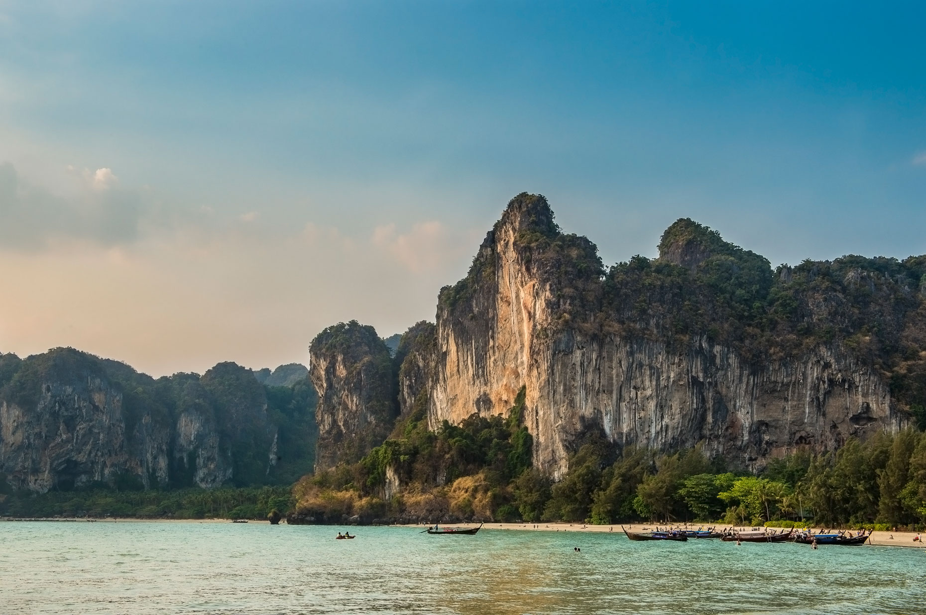 Landscape Photography -Landscape Railay Beach, Thailand